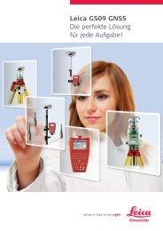 Leica GS09 GNSS Die perfekte Lösung für jede Aufgabe! - Arctron