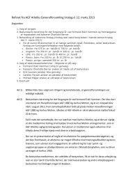 Referat fra generalforsamling 12/3 2013 - AGF Atletik