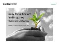 Vision for fremtidens fødevaresektor - Agro Food Park