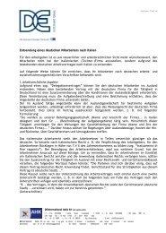 Entsendung eines deutschen Mitarbeiters nach Italien ... - AHK Italien
