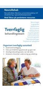 NevroRehab - Nevroklinikken Ahus - Akershus universitetssykehus - Page 2