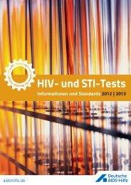 HIV- und STI-Tests - AIDS-Hilfe NRW e.V.
