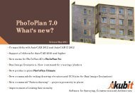 Photoplan 7.0 What's new? - Arctron