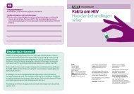 Fakta om HIV Hvordan behandlingen virker - Aidsmap