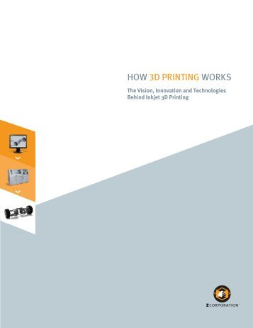 How 3D Printing Works - Imaging Technology Group