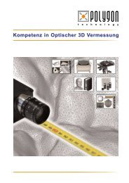 Kompetenz in Optischer 3D Vermessung - Polygon Technology Gmbh