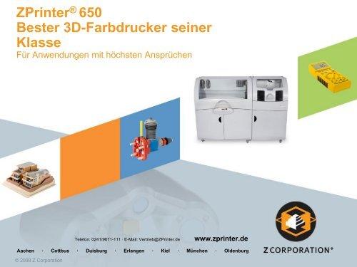 Zprinter 650 - Arctron