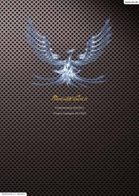Produktkatalog 2011/2012 Product Catalogue 2011/2012 - AiV