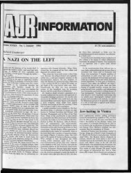 m INFORMATION - The Association of Jewish Refugees