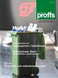 Transportproffs nr 2, 2011 - Sveriges Åkeriföretag