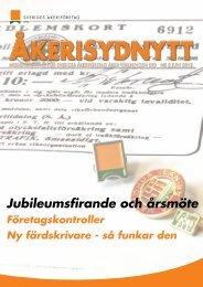ÅkeriSydNytt nr 2, 2012 - Sveriges Åkeriföretag