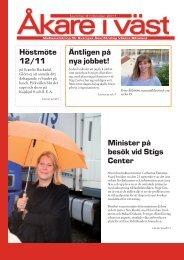 Åkare i väst nr 3, 2011 - Sveriges Åkeriföretag