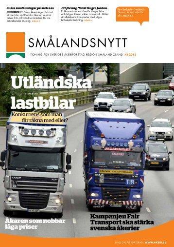 Utländska lastbilar - Sveriges Åkeriföretag