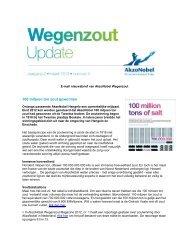 100 miljoen ton zout gewonnen - AkzoNobel