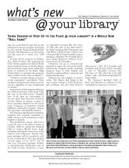 2008 ALA Annual Conference newsletter - American Library ...