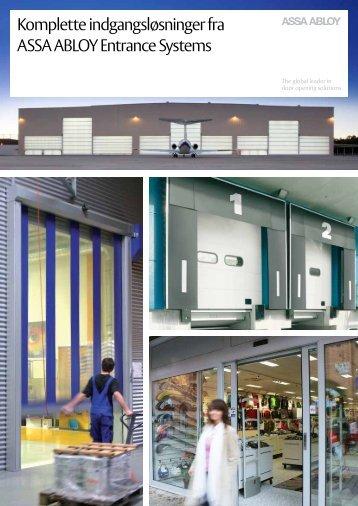 Komplette indgangsløsninger fra ASSA ABLOY Entrance Systems