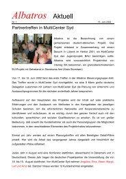 Albatros nyheder - albatros-projekt.info