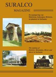 Suralco Magazine 2004 nr 1 De naamgeving van Districten ... - Alcoa