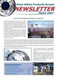 Dutch Newsletter March 2007.indd - Alcoa