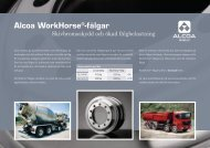 Alcoa WorkHorse®-fälgar