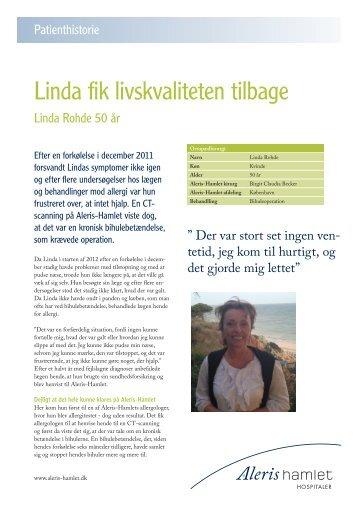 Linda Rohde - Aleris
