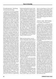 Kurz & bündig - Aktion Lebensrecht für Alle eV