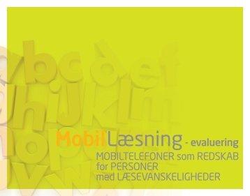 - evaluering MOBILTELEFONER som REDSKAB for PERSONER ...