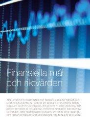 Finansiella mål och riktvärden - Alfa Laval