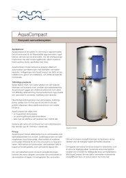 AquaCompact - kompakt varmvattensystem - Alfa Laval