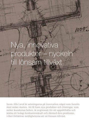 Forskning och utveckling - Alfa Laval