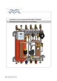 Installations och serviceinstruktion Mini/Mini XL RVS46IS - Alfa Laval