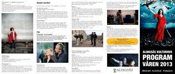 kulturhuset program våren 2013 (pdf, 1.27 MB)