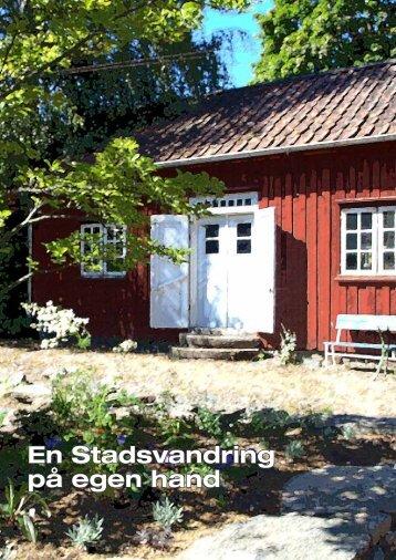 En Stadsvandring på egen hand - Alingsås kommun