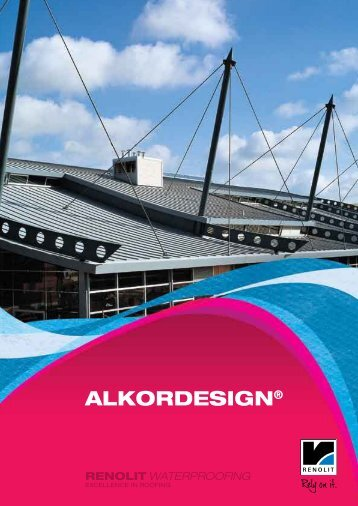 ALKORDESIGN® - RENOLIT WATERPROOFING