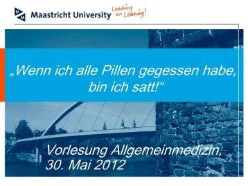 allgmed_vor_II_2012_.. - Institut für Allgemeinmedizin, Frankfurt ...