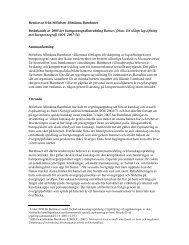 Remissvar från Stiftelsen Allmänna Barnhuset Betänkande av 2005 ...