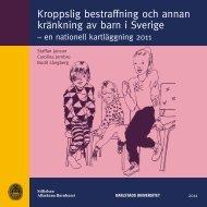 Kroppslig bestraffning och annan kränkning av barn i Sverige