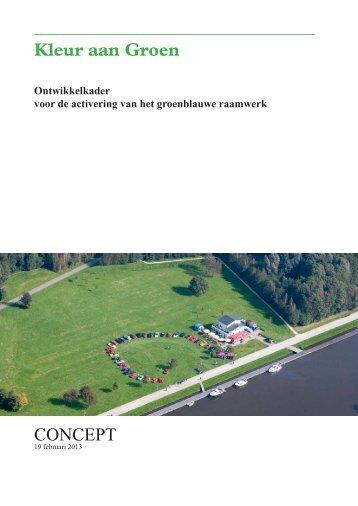Conceptnota Kleur aan Groen - Gemeente Almere