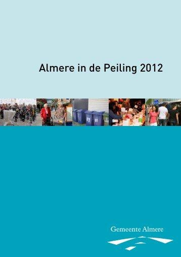 onderzoek 'Almere in de Peiling' - Gemeente Almere