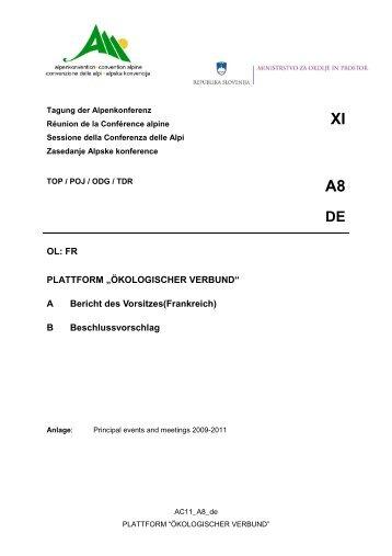 Anlage 11 - Convenzione delle Alpi