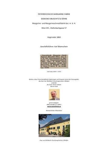 ÖSTERREICHISCHE MARGARINE - Althofen
