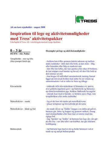 Inspiration til lege og bevægelsesmulighder i ... - Alt om kost