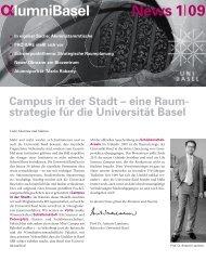 Newsletter 1/09 - Alumni Basel