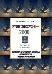 Verksamhetsåret 2007- 2008 - Älvsbyns kommun