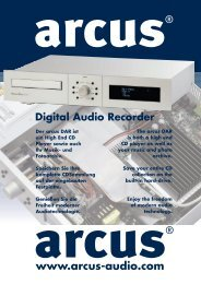 arcus Digital Audio Recorder 300