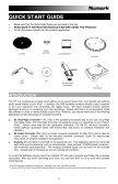 manual de inicio rápido para el usuario español ( 13 – 22 ) - Page 3