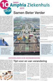 20111214 BN De Stem Bijlage 10 jaar Amphia Samen Beter Verder ...