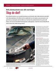 Defa alarmsysteem voor alle voertuigen - AMT.nl