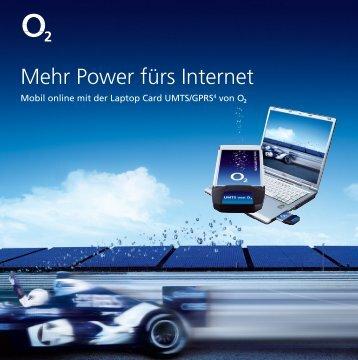 Mehr Power fürs Internet