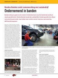 Ronden Banden zoekt samenwerking met autobedrijf - Amt